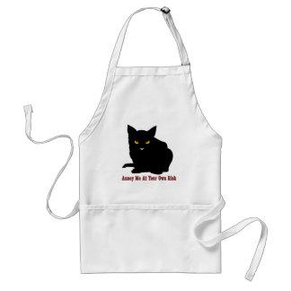 猫: 私を自己の責任において悩まして下さい スタンダードエプロン