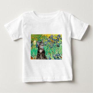 猫(虎猫2) -アイリス ベビーTシャツ