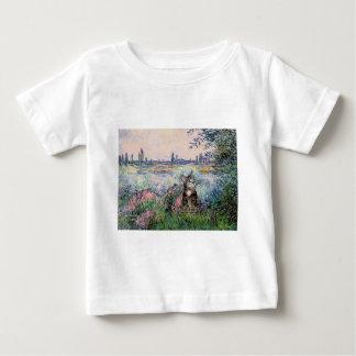猫(虎猫2) -セーヌ河著… ベビーTシャツ