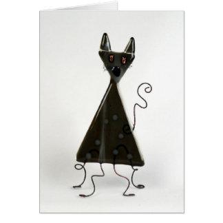 猫-黒 カード
