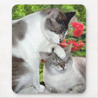 """""""猫#3""""をマウスパッドlove マウスパッド"""