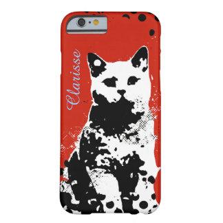 猫 BARELY THERE iPhone 6 ケース
