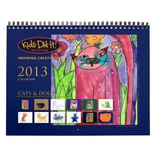 猫「nは|の2013カレンダー|の子供それ後をつけます! デザイン カレンダー