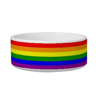 猫Copiaのカスタムな虹のペットボウル ボウル