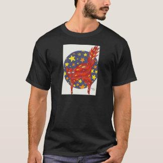 猫Firey猫 Tシャツ