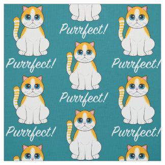 猫Purrfect! ファブリック