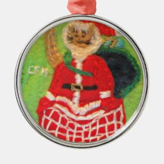 猫Santa.JPG メタルオーナメント