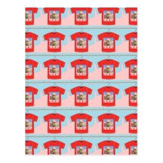 猫Tシャツ ポストカード