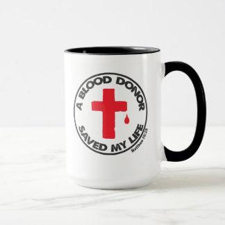 献血者の聖書のインスピレーションのコーヒー・マグ マグカップ