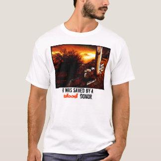 献血者-モザイク Tシャツ