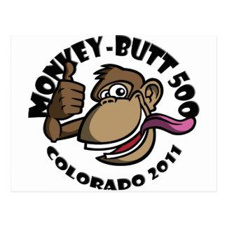 猿お尻2011年 ポストカード