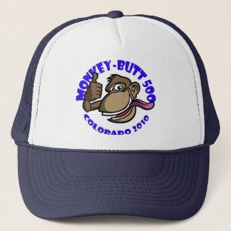 猿のお尻500の-コロラド州2010年-帽子-青 キャップ