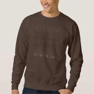 猿のスエットシャツ スウェットシャツ