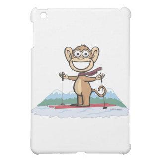 猿のスキー iPad MINIケース