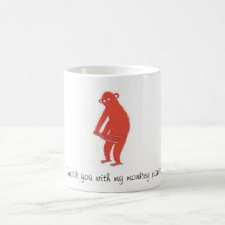 猿のズボン コーヒーマグカップ