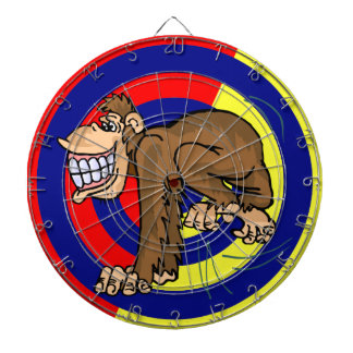 猿のダート盤 ダーツボード