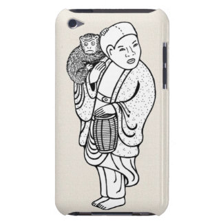 猿のトレーナーのnetsuke Case-Mate iPod touch ケース