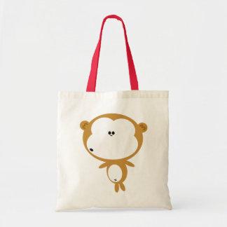 猿のトートバック トートバッグ