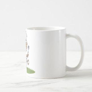猿のバーベキュー コーヒーマグカップ