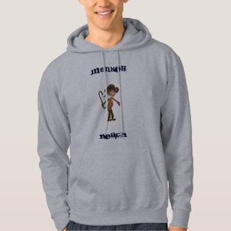 猿のビーチ米国東部標準時刻2011®のフード付きスウェットシャツ パーカ
