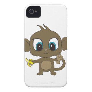猿のブラックベリーの箱 Case-Mate iPhone 4 ケース