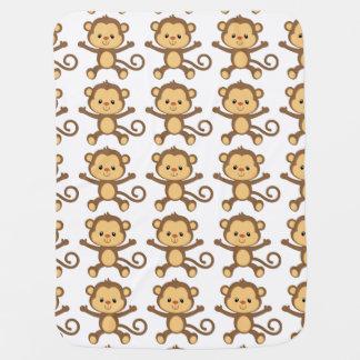 猿のベビーブランケット ベビー ブランケット
