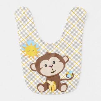 猿のベビー用ビブ ベビービブ