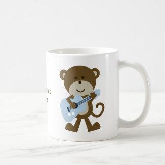 猿のロッカーかロックスター コーヒーマグカップ