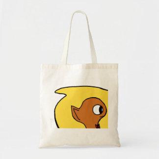 猿の乗車 トートバッグ