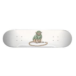 猿の凝視 スケートボード