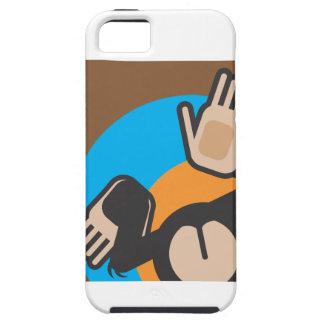 猿の口答えのiPhoneの場合 iPhone SE/5/5s ケース