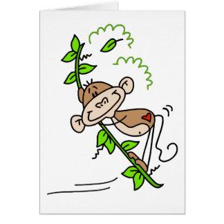 猿の振動 カード