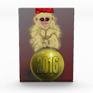 猿の文鎮の年 表彰盾