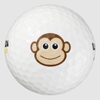 猿の漫画 ゴルフボール