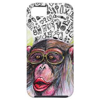 猿の爆発。 女性 iPhone SE/5/5s ケース