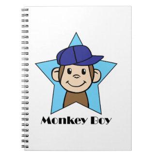 猿の男の子 ノートブック
