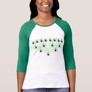 猿の系譜のワイシャツ Tシャツ