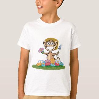猿の花の庭師 Tシャツ