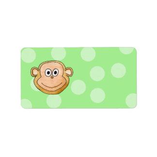 猿の表面 ラベル