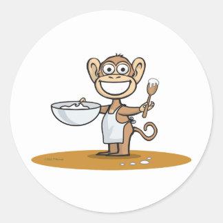 猿の調理師 ラウンドシール