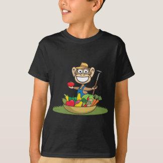 猿の農家 Tシャツ