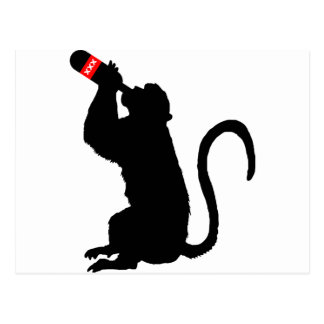 猿の酒宴 ポストカード