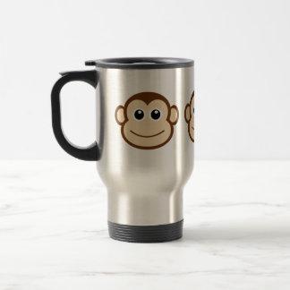 猿の顔の漫画 トラベルマグ