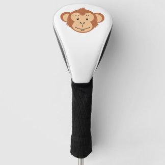 猿の顔 ゴルフヘッドカバー