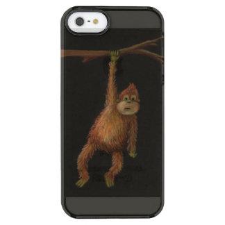 猿のiPhone 5/5s Clearly™のディフレクターの箱 クリア iPhone SE/5/5sケース