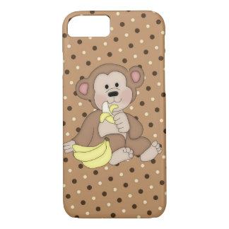 猿のiPhone 7のやっとそこに場合 iPhone 8/7ケース