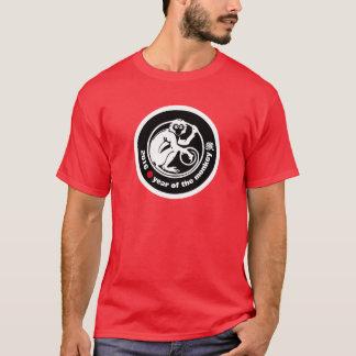 猿のTシャツの2016人の中国人年 Tシャツ