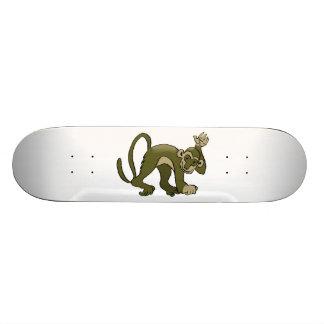 猿はあなたで振ります スケートボード