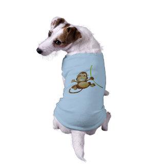 猿は小犬のTシャツを設計しました ペット服