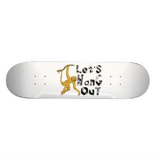 猿は時を過ごそう言います スケートボード